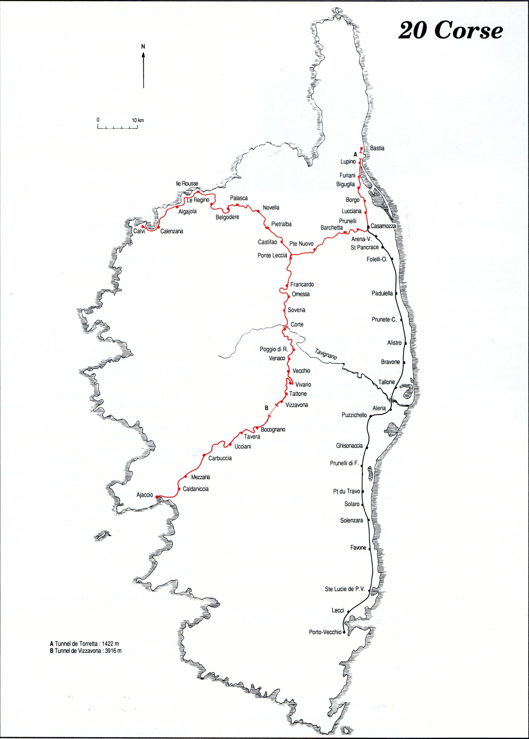 Carte Corse Noir Et Blanc.Les Cartes Departementales